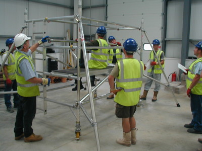 training scaffold glasgow